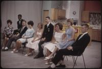 Guests on The Dave Astor Show set, Portland, ca. 1962