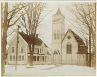 Church of the Good Shepherd and rectory, Houlton, ca. 1903
