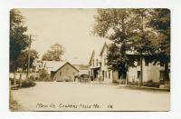 Main Street, Coopers Mills, Whitefield, ca. 1910