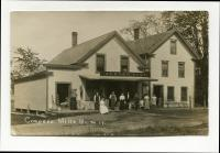 Achorn Brothers store, Coopers Mills, Whitefield, ca. 1908