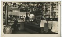 H. T. Weeks & Company store interior, Whitefield, ca. 1910