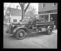 McCann Fire Engine, South Portland, ca. 1930