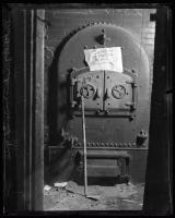 Furnace used in Mitchell case, Portland, 1930