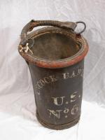 Water bucket from Hancock Barracks, Houlton ca.1840