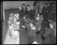 Food baskets, Portland, ca. 1934