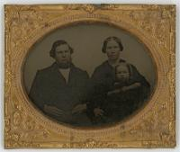 James Fowler family, Unity, ca. 1855