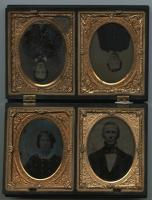 Fred Burrill family, Auburn, ca. 1859