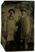 Two carpenters, Bingham, ca. 1865