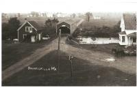 Haynesville covered bridge, ca. 1908