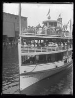 Casco Bay Lines ferry Pilgrim, Portland, 1925