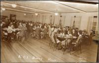Dinning Hall at Ricker Classical Institute, Houlton, ca. 1935