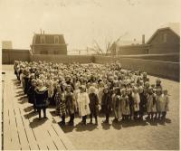 Girls at North School, Portland, 1911