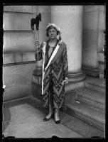 Bonnie Chorlton at the NFBPWC convention, Portland, 1925