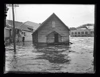 Union River flood, Ellsworth, 1923