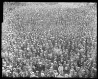 Crowd in Monument Square, Portland, 1923
