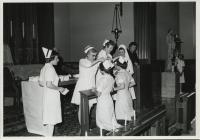 Mercy School of Nursing capping ceremony, Portland, ca. 1970