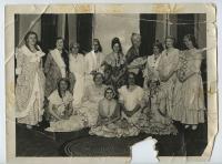 Philharmonic Club performance cast, Millinocket, 1927