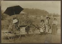 Uncle Zeke's sightseeing tour, Millinocket, ca. 1920