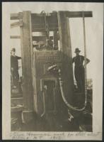 Steam hammer, Millinocket, 1913
