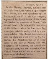 Read newspaper articles from 1818