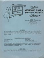 Electri Kitchen recipes - Ham Delight, 1954