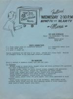 Electri Kitchen Recipes - The Bride Entertains, 1954