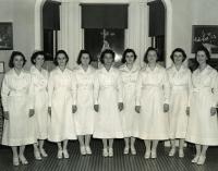 Queen's Hospital School of Nursing graduates, Portland, 1938