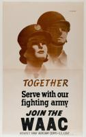 Join the Women's Army Auxiliary Corps, World War II poster, ca. 1943