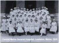 Central Maine General Hospital nurses, Lewiston, 1925