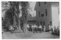 Town meeting at Troy Grange Hall, ca. 1940