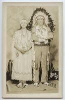 Lucy Nicolar Poolaw and Bruce Poolaw, Indian Island ca. 1940