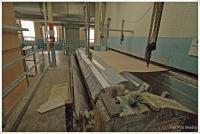 Adhesive applicator at Pepperell Mill, Biddeford, 2009