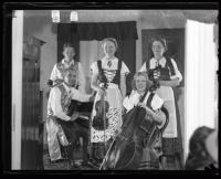 Bye Family Ensemble, Portland, ca. 1930
