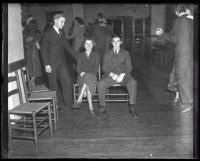 Teenagers at school dance, ca. 1930