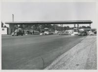 Maine Turnpike toll booth, Kittery, ca. 1947
