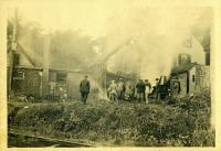 Fire at Bernstein's Store, Yarmouth, 1913