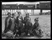 Kansas delegation of NFBPWC convention, Old Orchard Beach, 1925