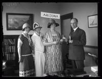 Arizona delegation of NFBPWC with Governor Brewster, Portland, 1925