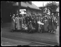 Missouri delegation to  NFBPWC convention, Portland, 1925