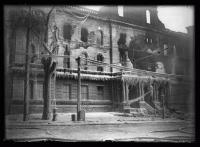 Fire damage, ca. 1920
