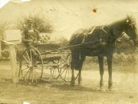 Rural Free Delivery (RFD) mailman, Westport Island, ca. 1908