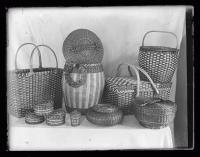 Penobscot baskets, Portland, 1923
