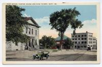 King Tavern and Customs House, Bath, ca. 1910