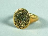 Signet ring, Richmond Island, ca. 1580