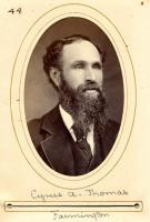 Cyrus A. Thomas, Farmington, 1880
