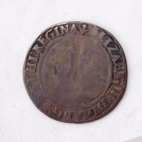 Queen Elizabeth I English sixpence coin, Richmond Island, 1563