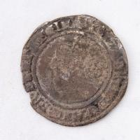 Queen Elizabeth I English sixpence coin, Richmond Island, 1569
