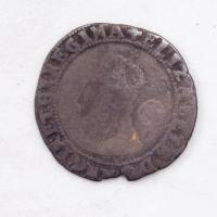 Queen Elizabeth I English sixpence coin, Richmond Island, 1578