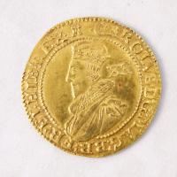 King Charles I English Unite coin, Richmond Island, 1627