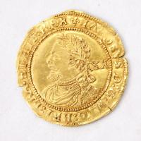 King James I English Laurel coin, Richmond Island, 1623